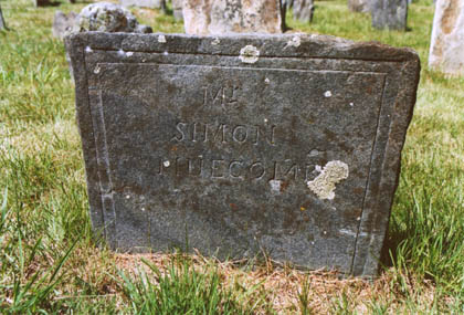 Simon Newcomb Footstone