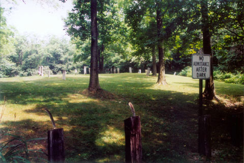 Hall Rd. (Sam Brown) Cemetery